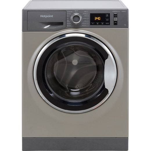 Hotpoint ActiveCare NM11945GCAUKN 9Kg Washing Machine with 1400 rpm - Graphite - B Rated