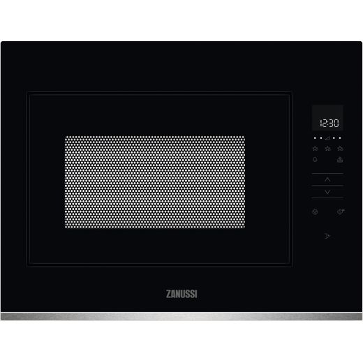 Zanussi ZMBN4SX Built In Microwave - Black / Stainless Steel