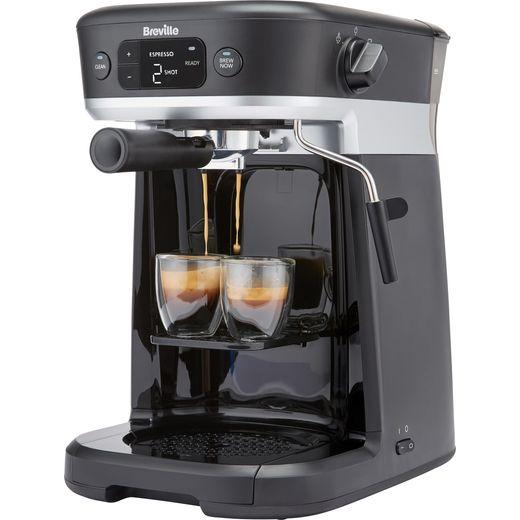 Breville All-In-One VCF117 Espresso Coffee Machine - Black