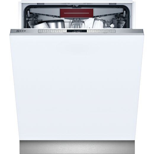 NEFF N50 S155HVX15G Wifi Connected Fully Integrated Standard Dishwasher - Stainless Steel Control Panel - E Rated