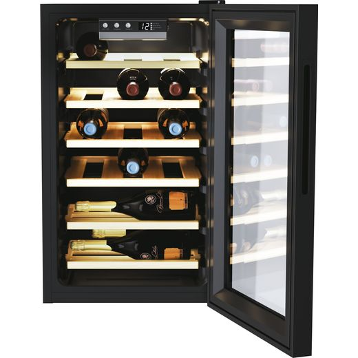 Candy DiVino CWC021ELSPK Wine Cooler - Black - G Rated