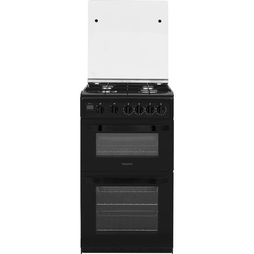 Hotpoint HD5G00CCBK/UK Gas Cooker - Black