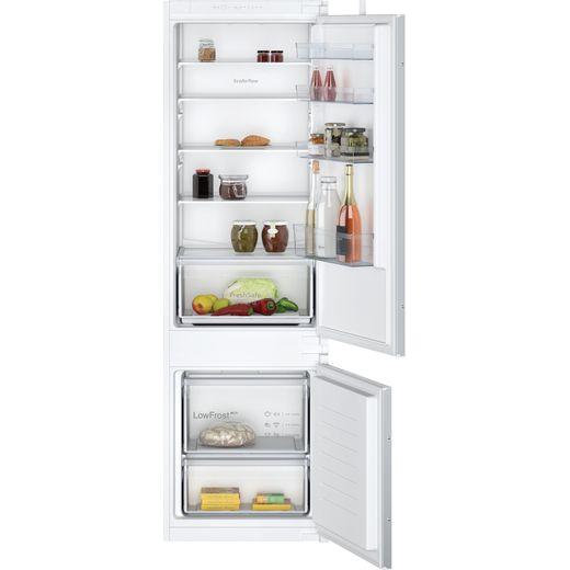 NEFF N30 KI5871SF0G Integrated 70/30 Fridge Freezer with Sliding Door Fixing Kit - White - F Rated
