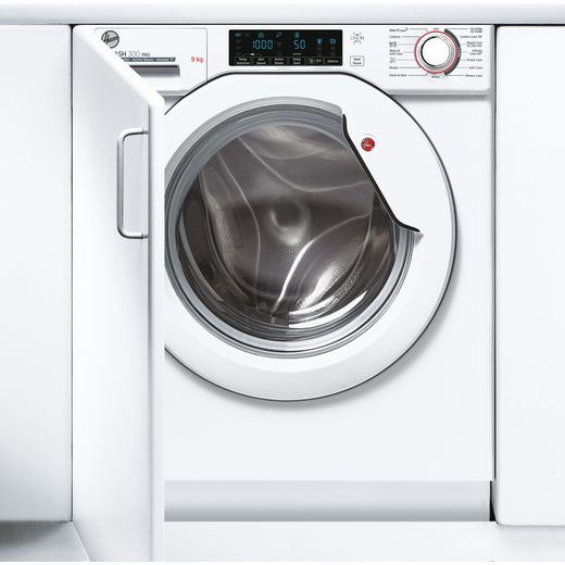 Hoover H-WASH 300 PRO HBWOS69TME Wifi Connected Integrated 9Kg Washing Machine with 1600 rpm - White - B Rated