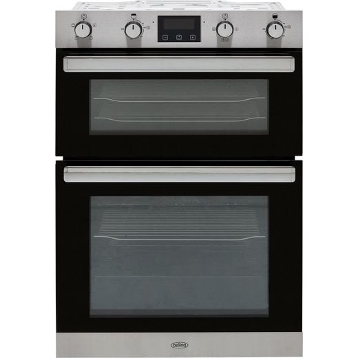 Belling BI902FP Built In Electric Double Oven - Stainless Steel