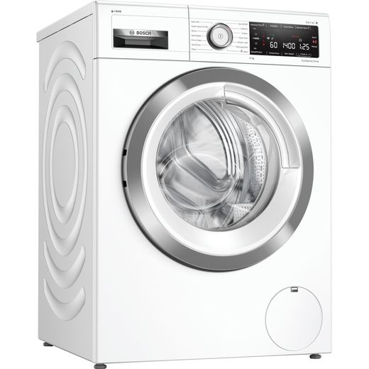 Bosch Serie 8 i-Dos™ WAV28KH3GB Wifi Connected 9Kg Washing Machine with 1400 rpm - White - B Rated