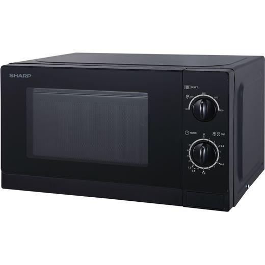 Sharp R20DKM 20 Litre Microwave - Dark Silver