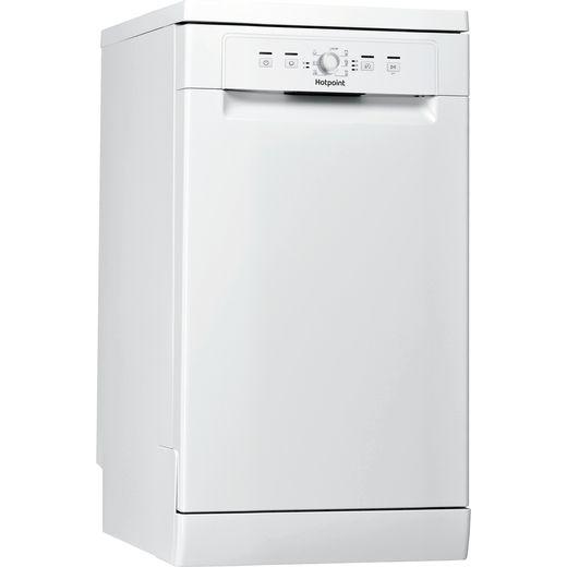 Hotpoint HSFE1B19UKN Slimline Dishwasher - White - F Rated