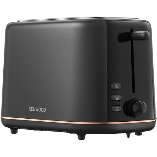 Kenwood Abbey Lux TCP05.A0DG 2 Slice Toaster - Black
