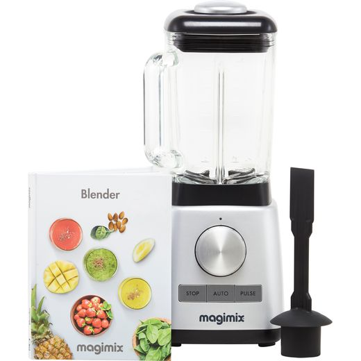 Magimix Le Blender 11619 with 4 Accessories - Satin Steel
