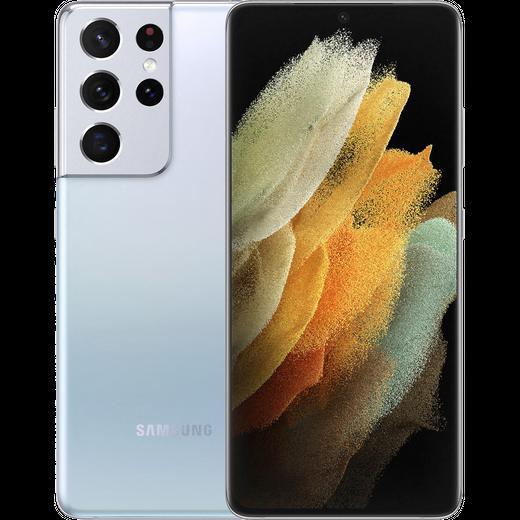 Samsung Galaxy S21 Ultra 5G 128GB Smartphone in Phantom Silver