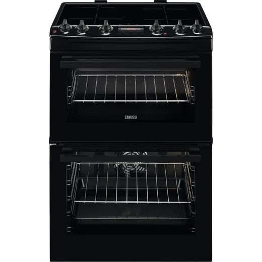 Zanussi ZCI66280BA Electric Cooker - Black - Needs 10700KW Electrical Connection