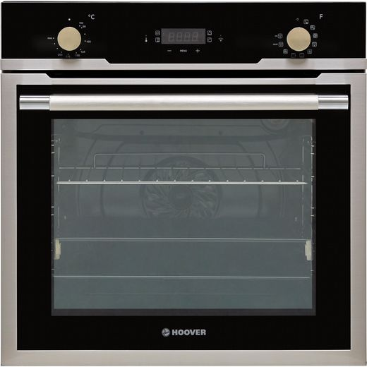 Hoover H-OVEN 500 HOZ3150IN WIFI Wifi Connected Built In Electric Single Oven - Stainless Steel Effect - A+ Rated