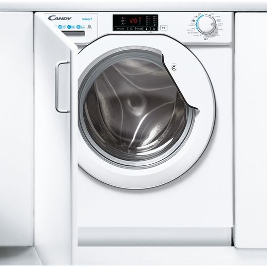 Candy CBD495D1WE/1 Integrated 9Kg / 5Kg Washer Dryer with 1400 rpm - White - E Rated