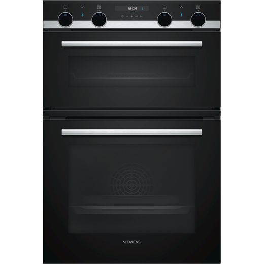 Siemens IQ-500 MB557G5S0B Built In Electric Double Oven - Stainless Steel - A/B Rated