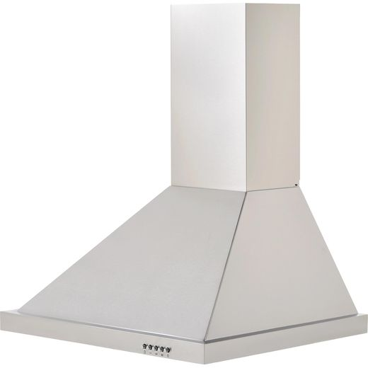 Baumatic BECH60X 60 cm Chimney Cooker Hood - Stainless Steel - C Rated