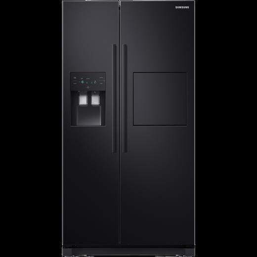 Samsung RS3000 RS50N3913BC American Fridge Freezer - Black - F Rated