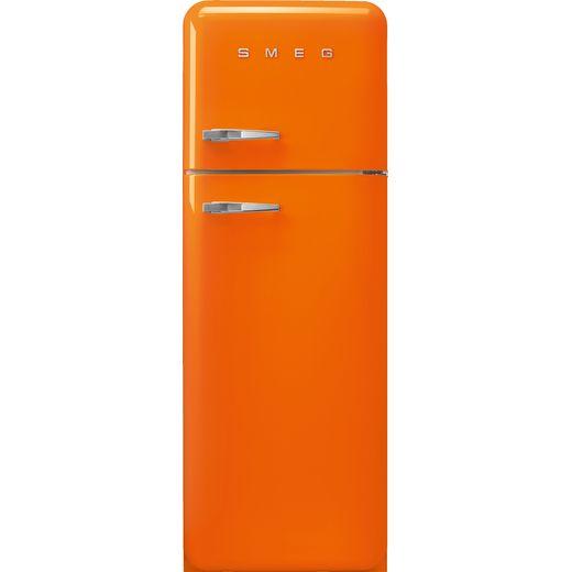 Smeg Right Hand Hinge FAB30ROR5 70/30 Fridge Freezer - Orange - D Rated