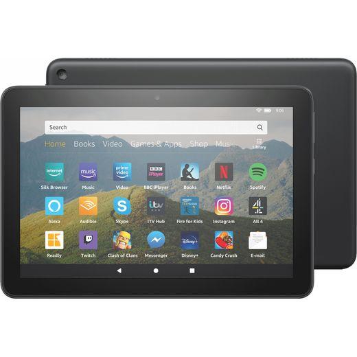 """Amazon Fire HD 8"""" 64GB Wifi Tablet - Black"""