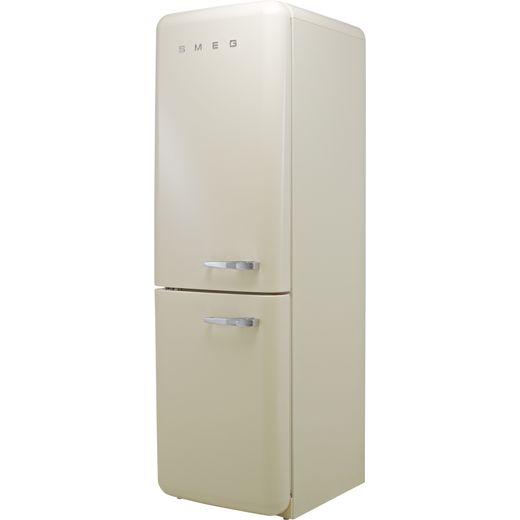 Smeg Left Hand Hinge FAB32LCR5UK 60/40 Frost Free Fridge Freezer - Cream - D Rated