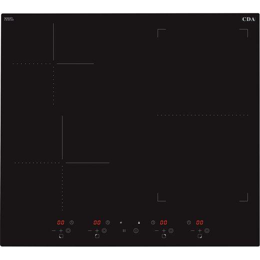 CDA HN6732FR 58cm Induction Hob - Black