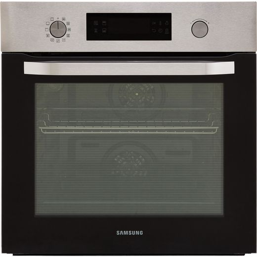 Samsung Dual Cook NV66M3571BS Built In Electric Single Oven - Stainless Steel - A Rated