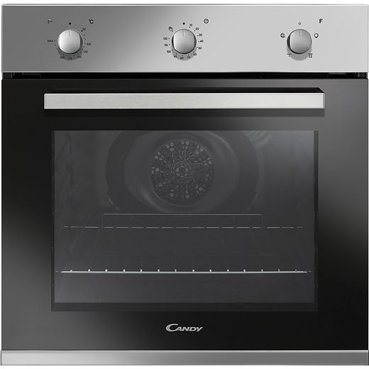 Candy FCP403X/E Built In Electric Single Oven - Stainless Steel - A Rated