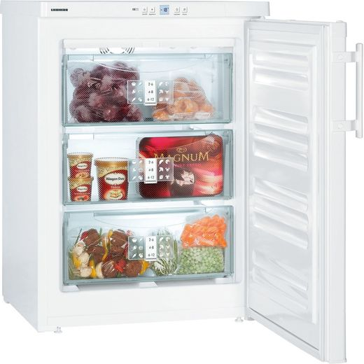 Liebherr GNP1066 Frost Free Under Counter Freezer - White - A++ Rated