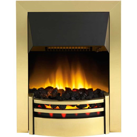 Dimplex Kansas KNS20 Coal Bed Inset Fire - Brass