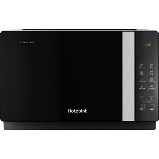 Hotpoint FREE SPACE CRISP MWHF206B 20 Litre Microwave With Grill - Black