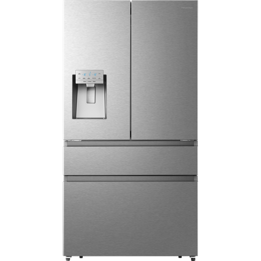 Hisense RF728N4AIF American Fridge Freezer - Stainless Steel - F Rated