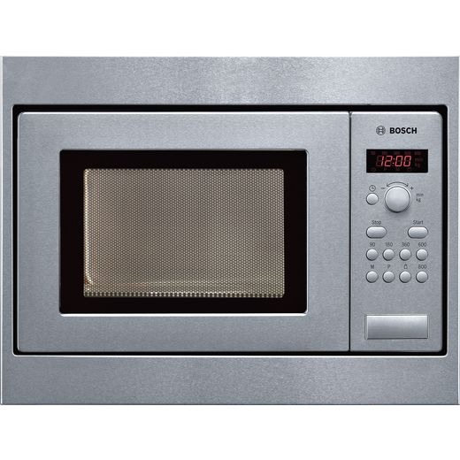 Bosch Serie 4 HMT75M551B Built In Microwave - Brushed Steel