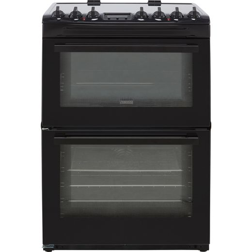 Zanussi ZCV69360BA Electric Cooker - Black - Needs 11.5KW Electrical Connection