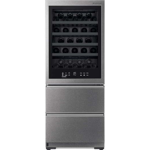 LG SIGNATURE LSR200W Wine Cooler - Stainless Steel - E Rated