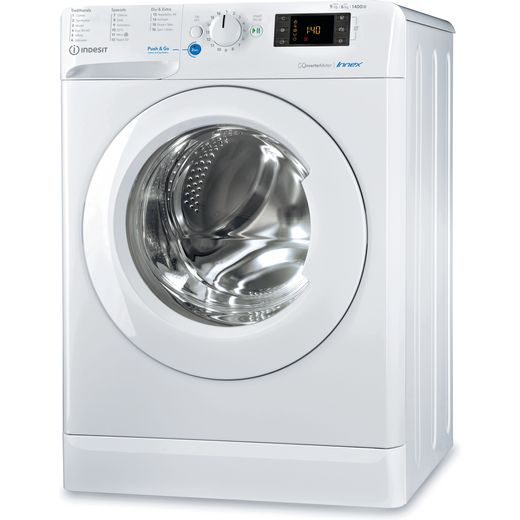 Indesit BDE961483XWUKN 9Kg / 6Kg Washer Dryer with 1400 rpm - White - D Rated