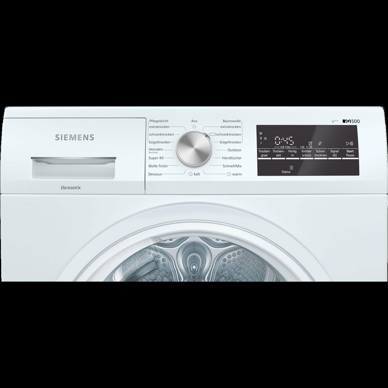 Wärmepumpentrockner 8 Kg Siemens Wt47r440 Günstig Kaufen Bei Ao De