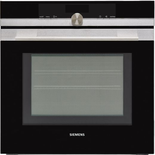 Siemens IQ-700 HM656GNS6B Wifi Connected Built In Electric Single Oven with Microwave Function - Stainless Steel
