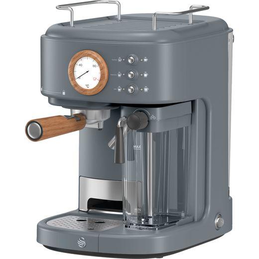Swan Nordic SK22150GRYN Espresso Coffee Machine - Slate Grey