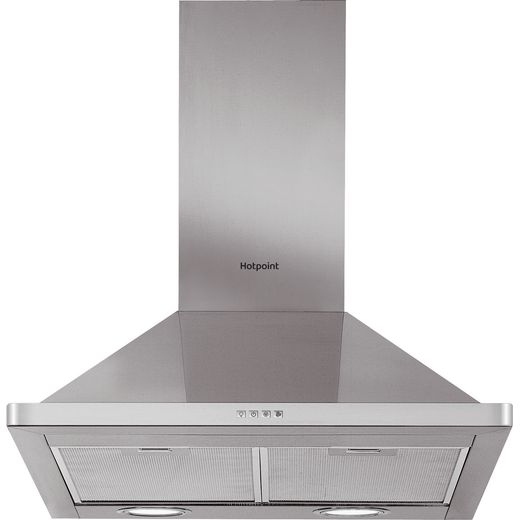 Hotpoint PHPN6.5FLMX 60 cm Chimney Cooker Hood - Stainless Steel - D Rated