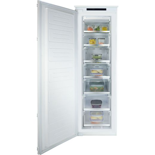 CDA FW882 Integrated Frost Free Upright Freezer with Sliding Door Fixing Kit - F Rated