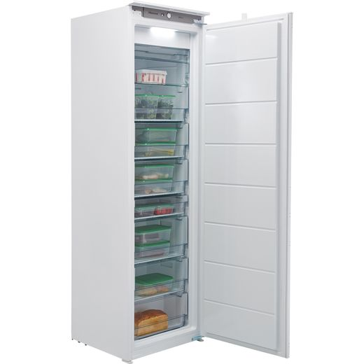 Hisense FIV276N4AW1 Integrated Frost Free Upright Freezer with Sliding Door Fixing Kit - F Rated