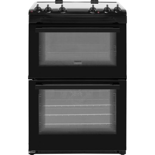 Zanussi ZCV66050BA Electric Cooker - Black - Needs 11.2KW Electrical Connection