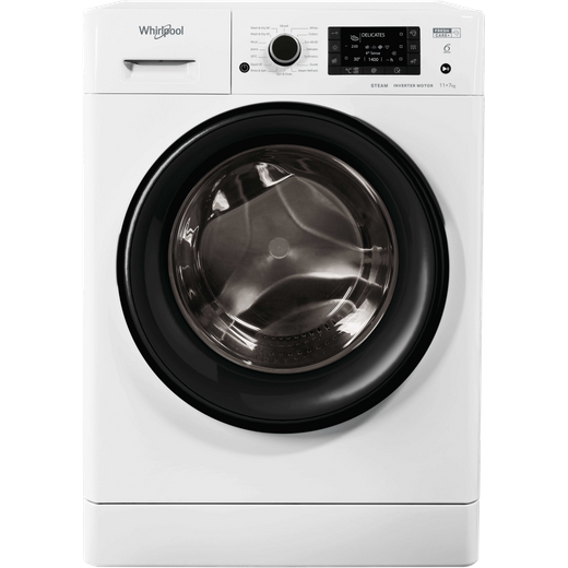 Whirlpool FWDD117168WUKN 11Kg / 7Kg Washer Dryer with 1600 rpm - White - E Rated