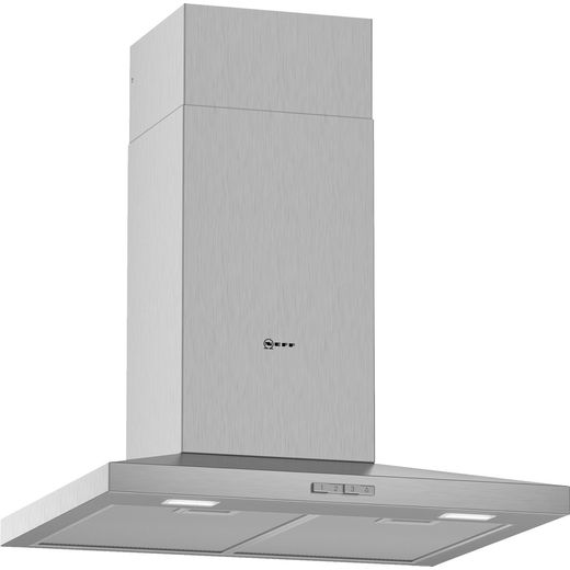 NEFF N30 D62QBC0N0B 60 cm Chimney Cooker Hood - Stainless Steel - D Rated