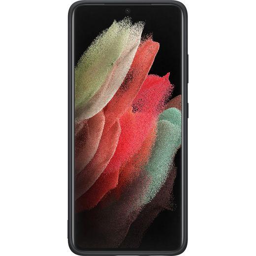 Samsung Silicone Case for Galaxy S21 Ultra - Black