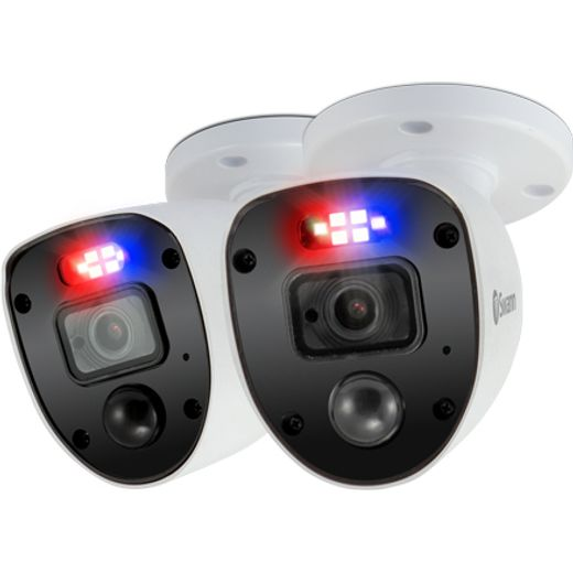 Swann Enforcer Add On Security Camera 2 Pack Full HD 1080p - White
