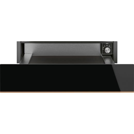 Smeg Dolce Stil Novo CPR615NR Built In Warming Drawer - Black / Copper