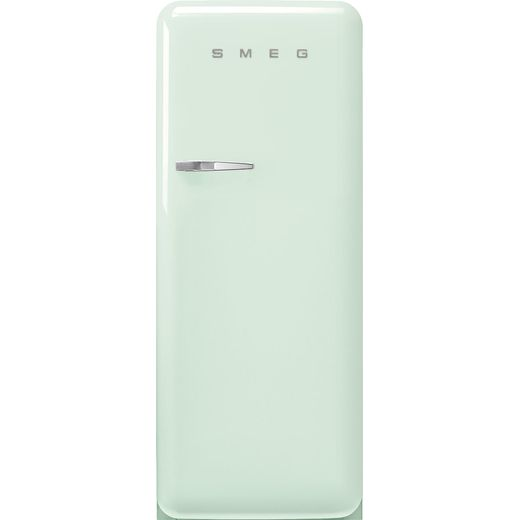 Smeg Right Hand Hinge FAB28RPG5 Fridge - Pastel Green - D Rated
