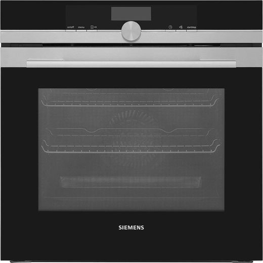 Siemens IQ-700 HB676GBS6B Wifi Connected Built In Electric Single Oven - Stainless Steel - A+ Rated
