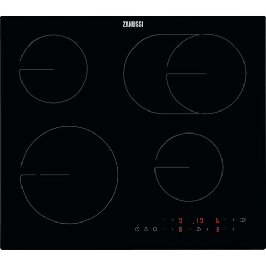 Zanussi ZHRN643K Built In Ceramic Hob - Black